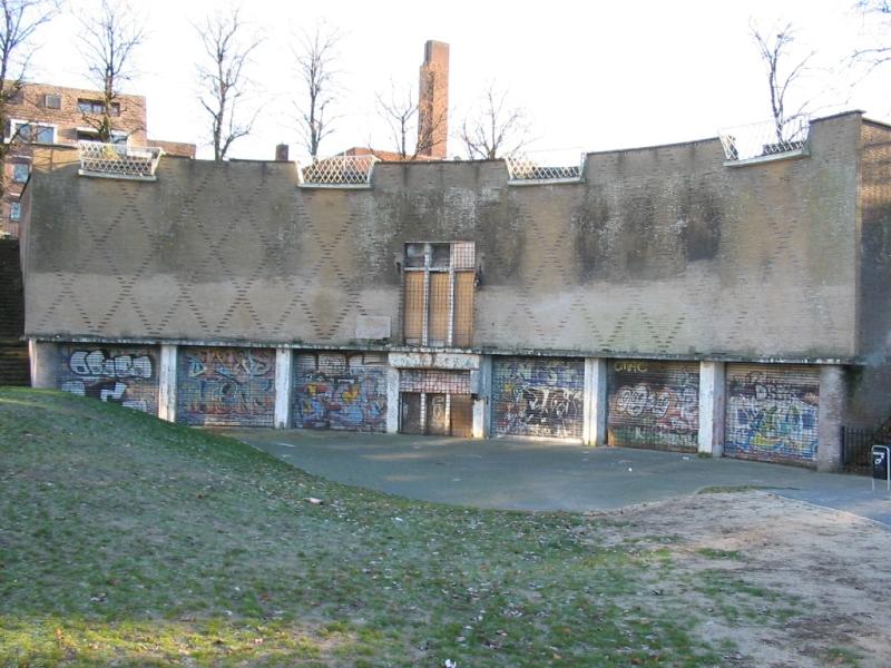 Hilversum, Zand- en zoutbunker
