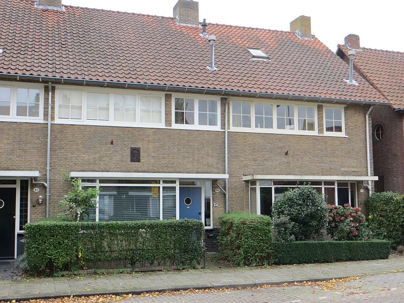 Tilburg, woningen Philips Vingboonsstraat