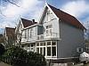 Houten huizen, Sandmannlaan, Naarden