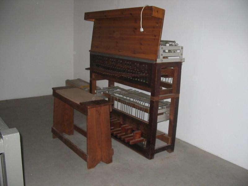 Carillon Raadhuis Hilversum, klavier